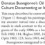 Article about Donatus Buongiorno published in academic journal